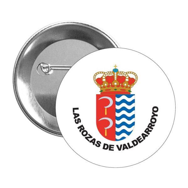 1454 chapa escudo heraldico las rozas de valdearroyo