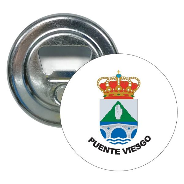 1455 abridor redondo escudo heraldico puente viesgo