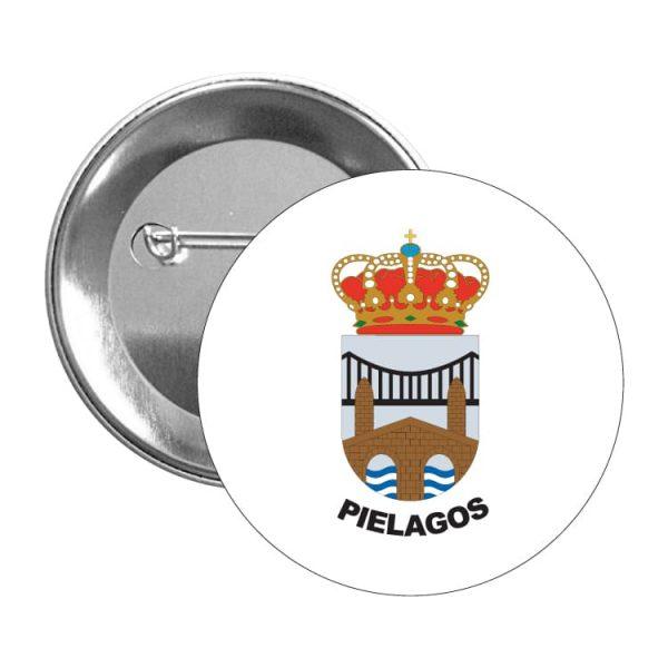 1457 chapa escudo heraldico pielagos
