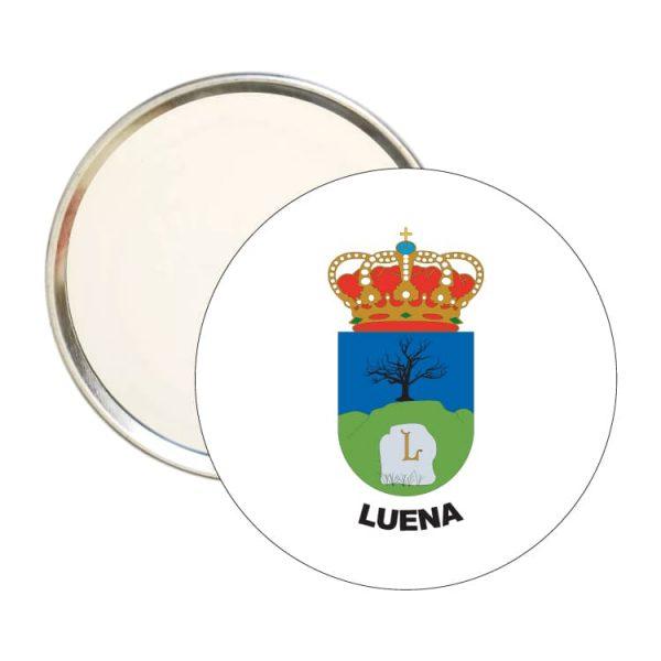 1458 espejo redondo escudo heraldico luena