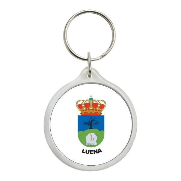 1458 llavero redondo escudo heraldico luena