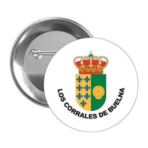1459 chapa escudo heraldico los corrales de buelna