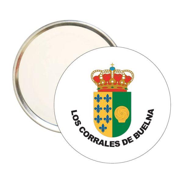 1459 espejo redondo escudo heraldico los corrales de buelna