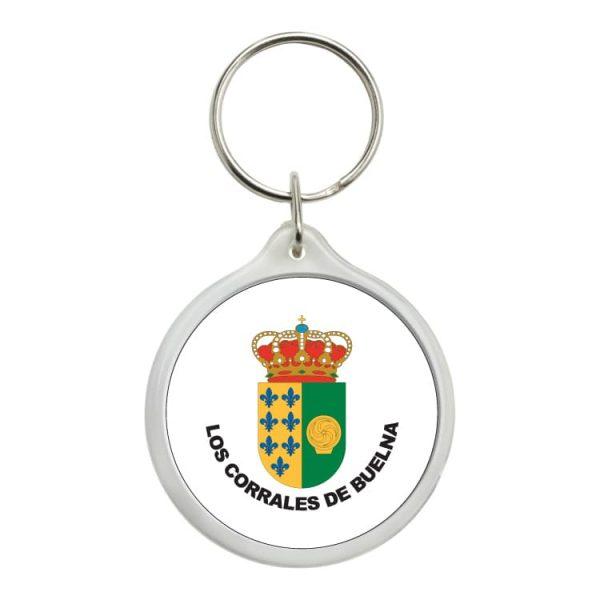 1459 llavero redondo escudo heraldico los corrales de buelna