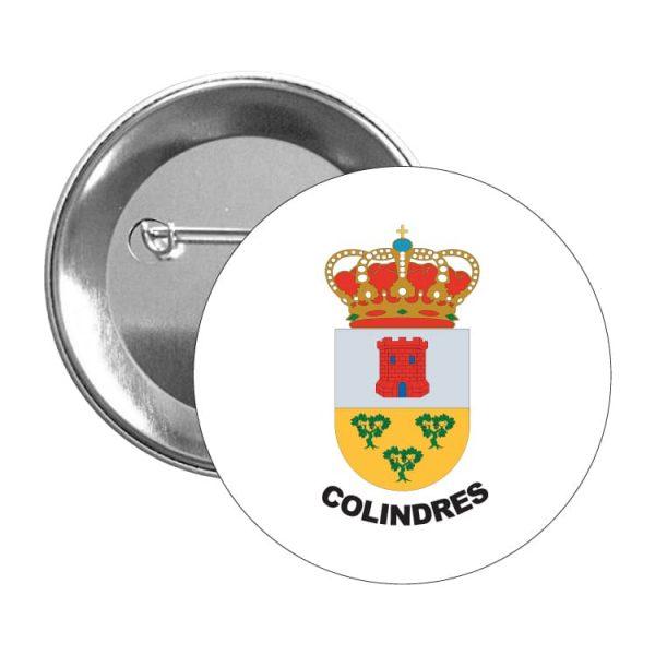 1462 chapa escudo heraldico colindres