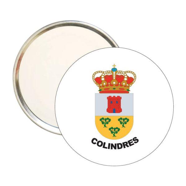 1462 espejo redondo escudo heraldico colindres