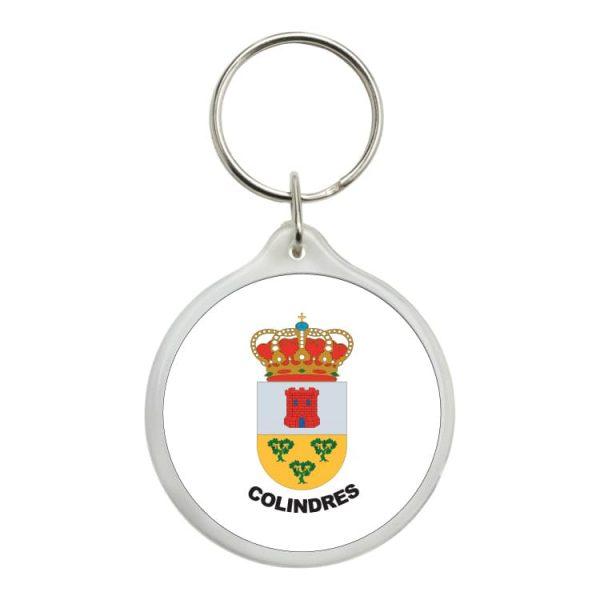 1462 llavero redondo escudo heraldico colindres