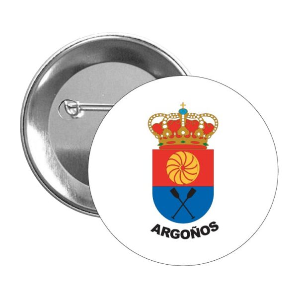 1463 chapa escudo heraldico argoños