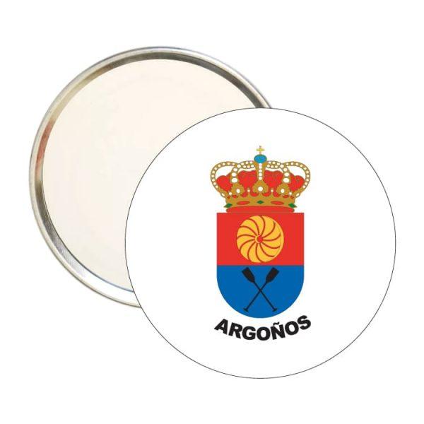 1463 espejo redondo escudo heraldico argoños