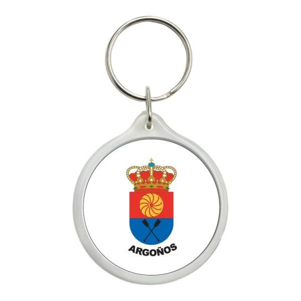 1463 llavero redondo escudo heraldico argoños