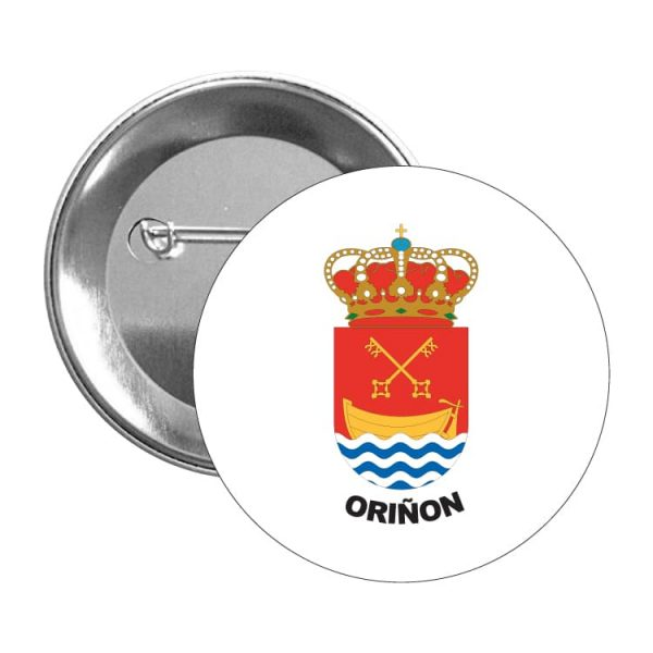 1464 chapa escudo heraldico oriñon