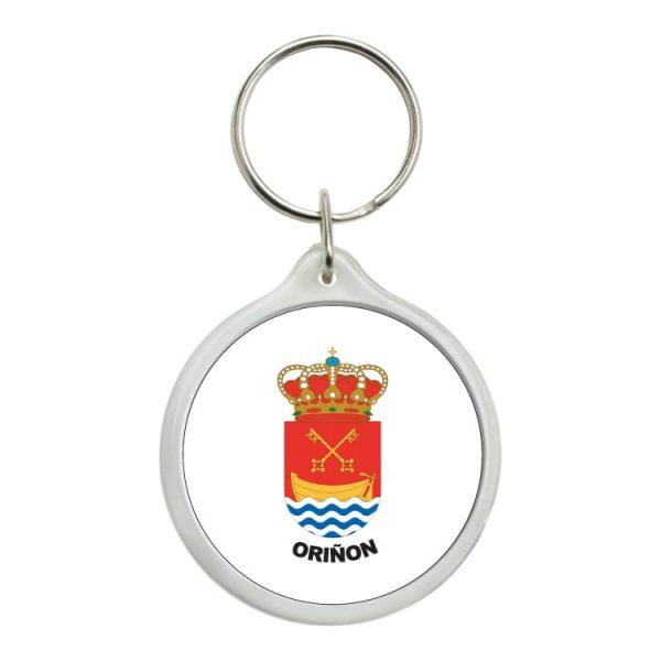 1464 llavero redondo escudo heraldico oriñon