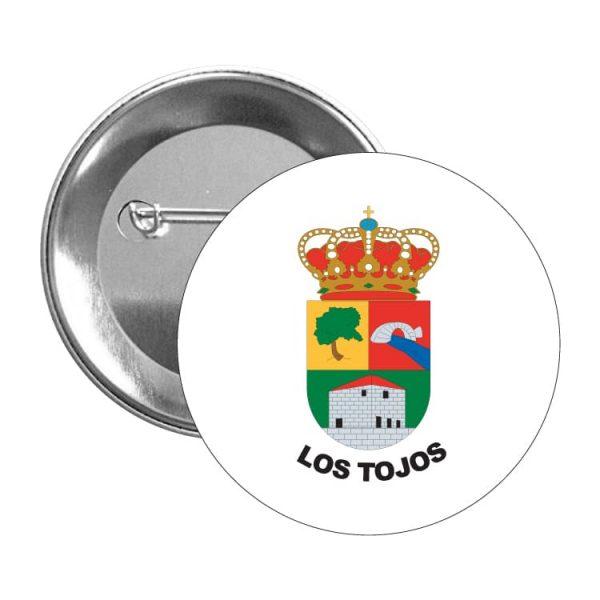 1468 chapa escudo heraldico los tojos