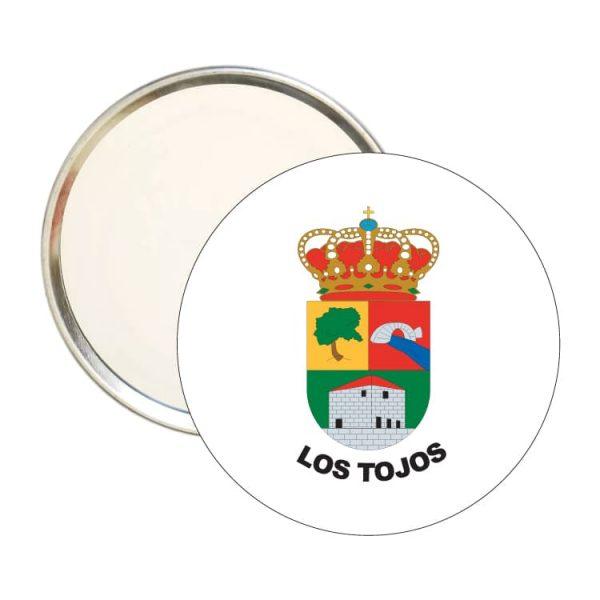 1468 espejo redondo escudo heraldico los tojos