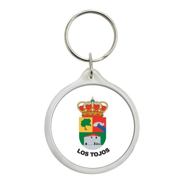 1468 llavero redondo escudo heraldico los tojos