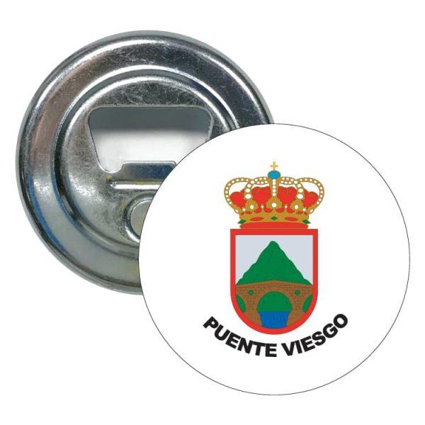 1470 abridor redondo escudo heraldico puente viesgo