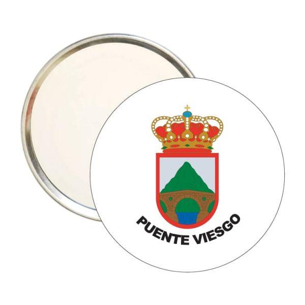 1470 espejo redondo escudo heraldico puente viesgo