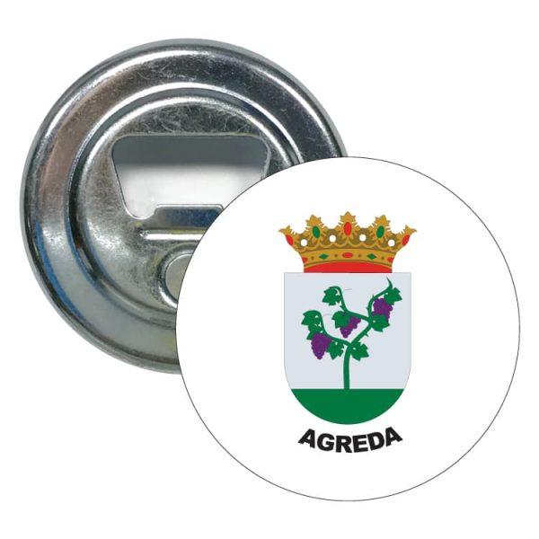 1472 abridor redondo escudo heraldico agreda