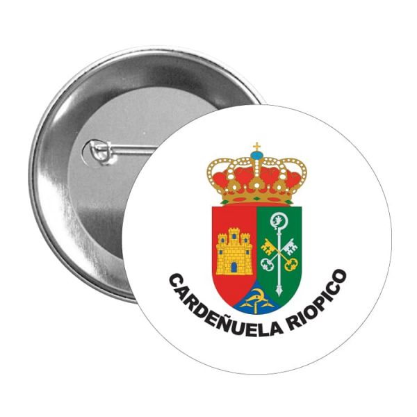 1473 chapa escudo heraldico cardeñuela riopico
