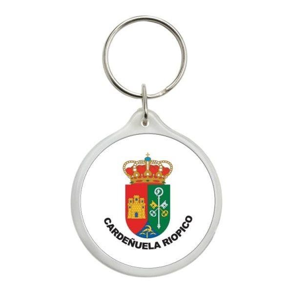 1473 llavero redondo escudo heraldico cardeñuela riopico