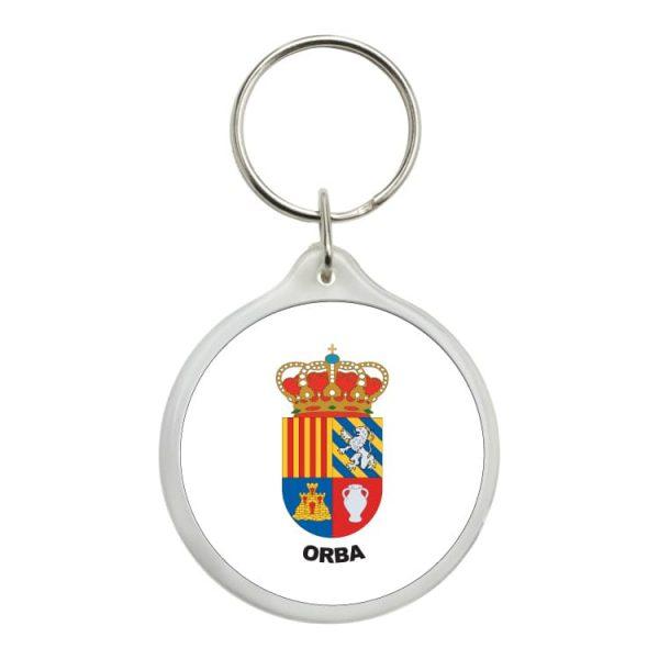 1474 llavero redondo escudo heraldico orba