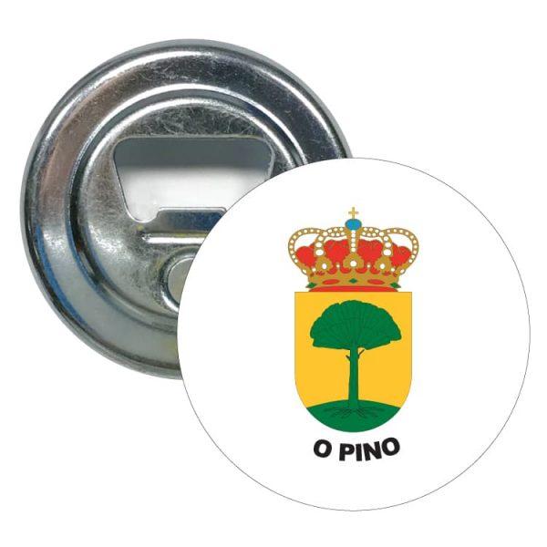 1475 abridor redondo escudo heraldico o pino