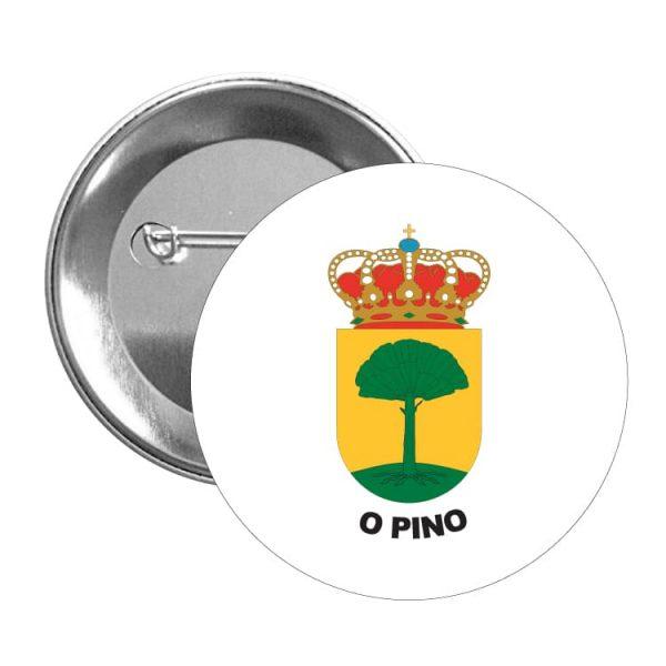 1475 chapa escudo heraldico o pino