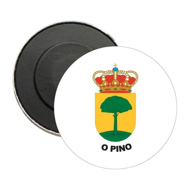 1475 iman redondo escudo heraldico o pino
