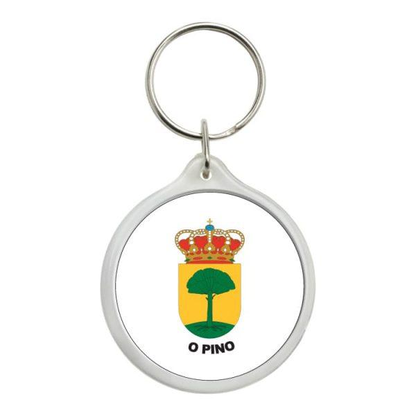 1475 llavero redondo escudo heraldico o pino