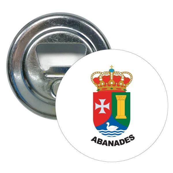 1476 abridor redondo escudo heraldico abanades