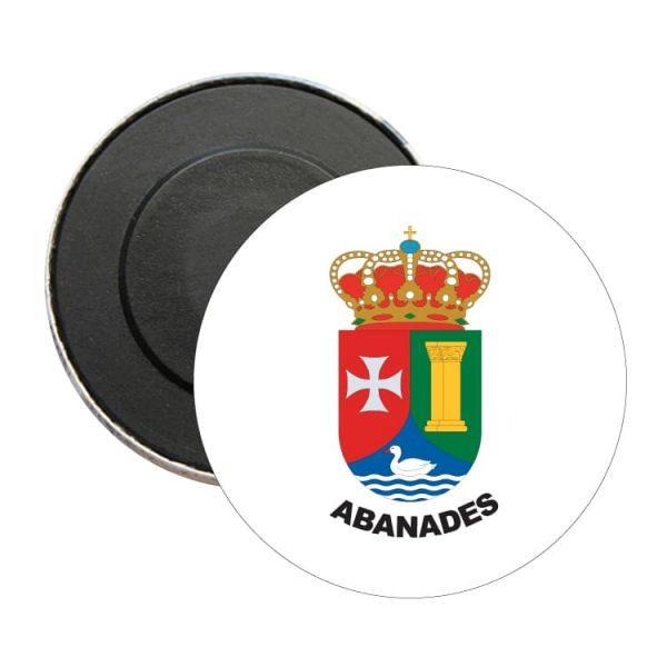 1476 iman redondo escudo heraldico abanades