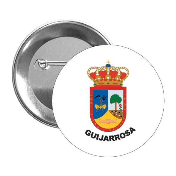1477 chapa escudo heraldico guijarrosa