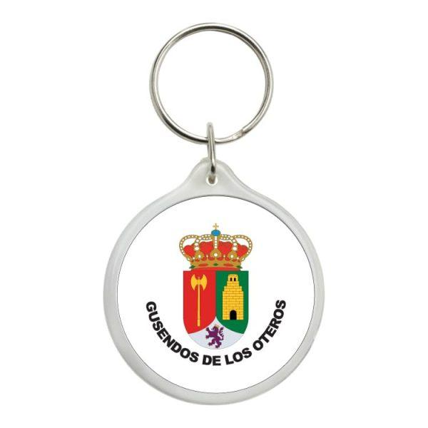 1478 llavero redondo escudo heraldico gusendos de los oteros