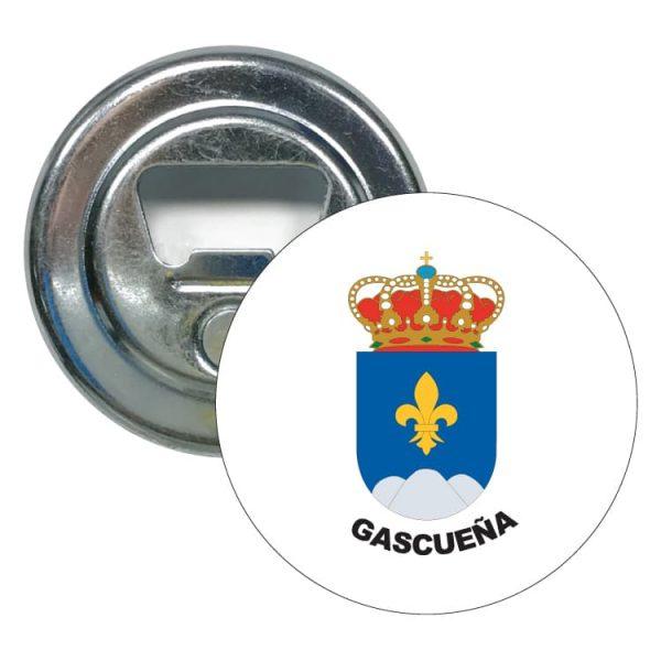 1479 abridor redondo escudo heraldico gascueña