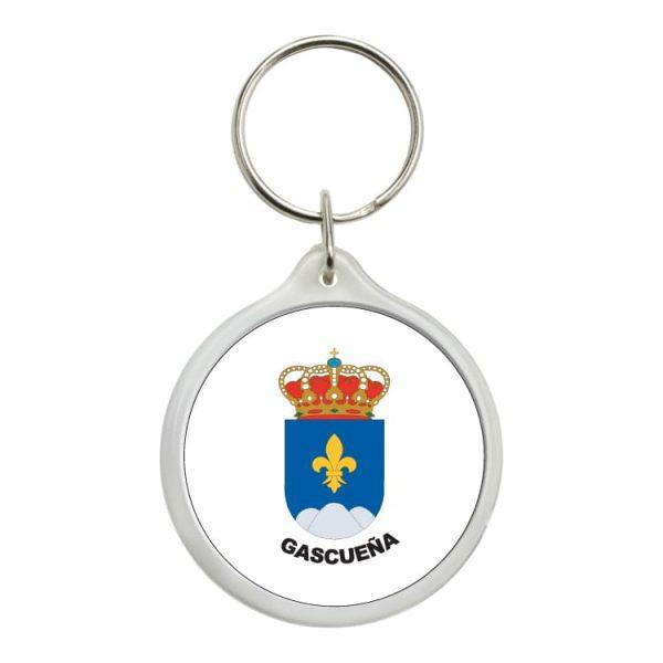 1479 llavero redondo escudo heraldico gascueña