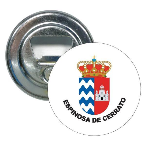 1480 abridor redondo escudo heraldico espinosa de cerrato