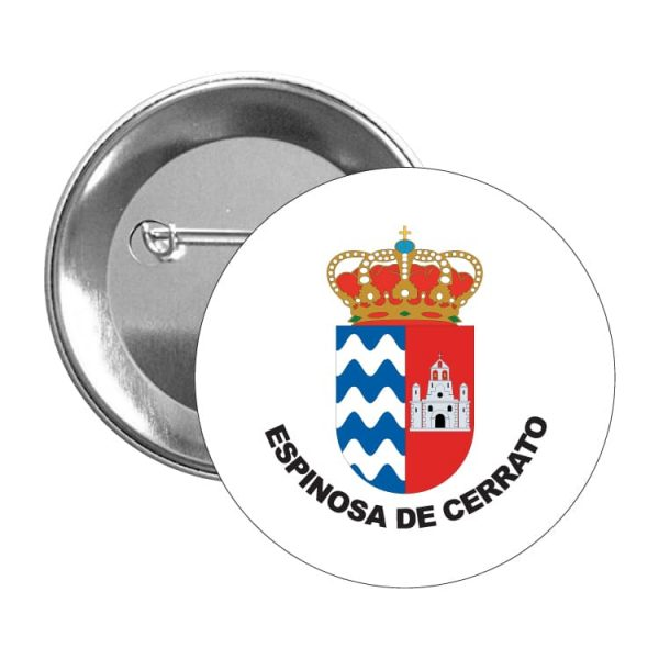 1480 chapa escudo heraldico espinosa de cerrato