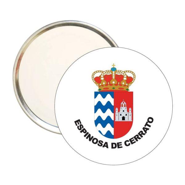 1480 espejo redondo escudo heraldico espinosa de cerrato