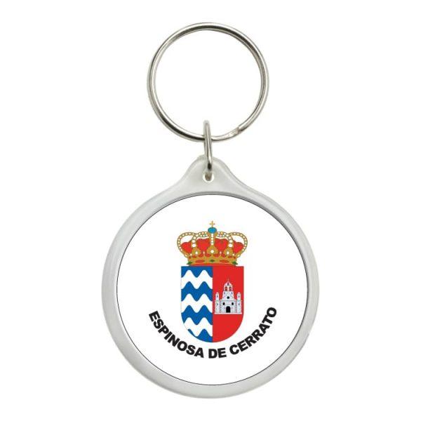 1480 llavero redondo escudo heraldico espinosa de cerrato