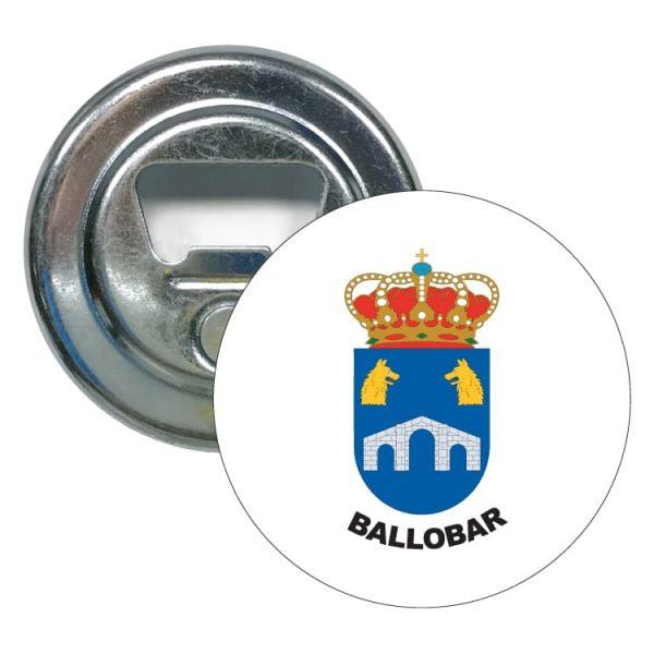 1481 abridor redondo escudo heraldico ballobar