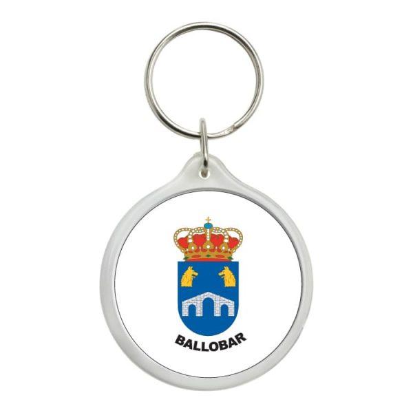 1481 llavero redondo escudo heraldico ballobar