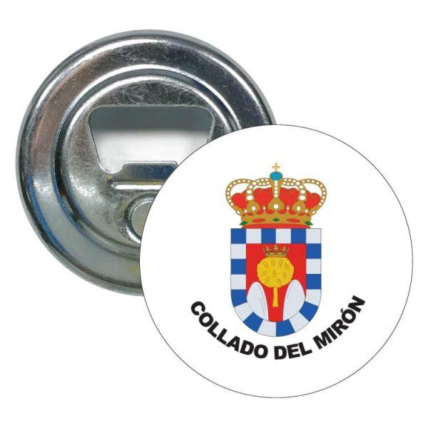 1482 abridor redondo escudo heraldico collado del miron