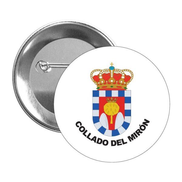 1482 chapa escudo heraldico collado del miron