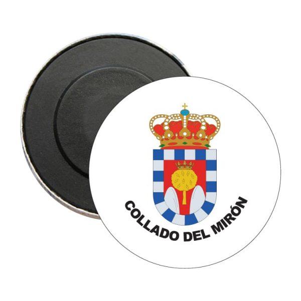 1482 iman redondo escudo heraldico collado del miron