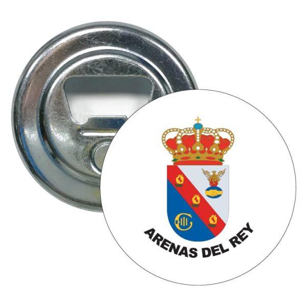 1483 abridor redondo escudo heraldico arenas del rey
