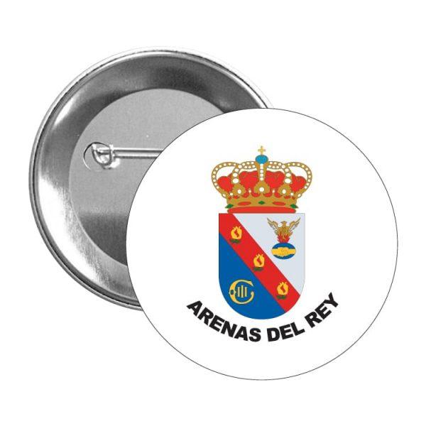 1483 chapa escudo heraldico arenas del rey
