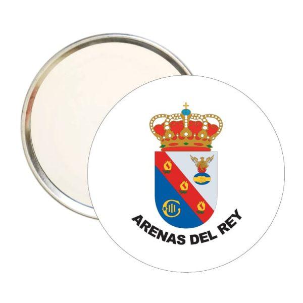 1483 espejo redondo escudo heraldico arenas del rey
