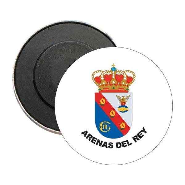 1483 iman redondo escudo heraldico arenas del rey