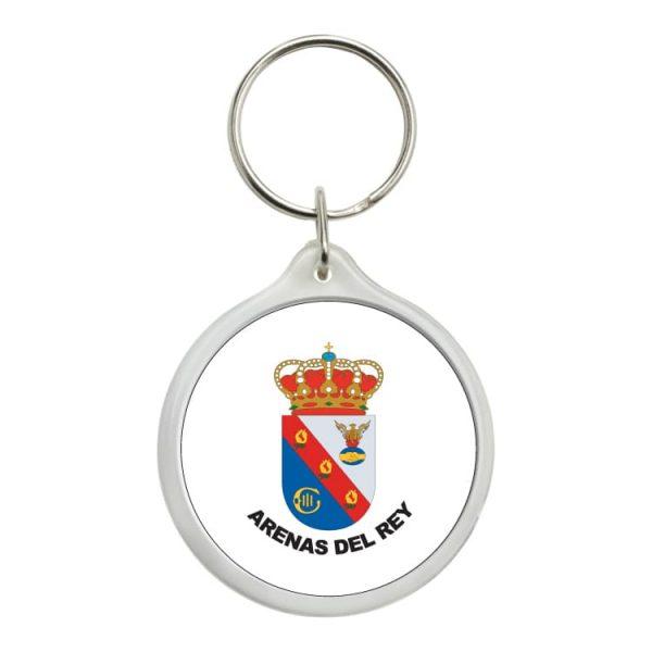 1483 llavero redondo escudo heraldico arenas del rey