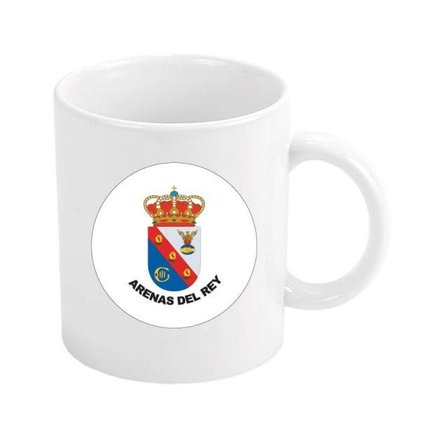 1483 taza escudo heraldico arenas del rey